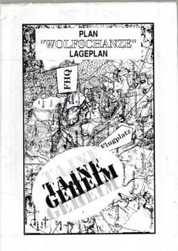 Lageplan Wolfschanze