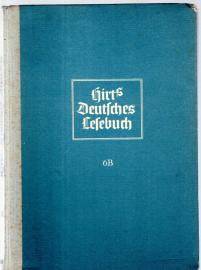 Hirts Deutsches Lesebuch für Mädchen. 6. Teil: Klasse 6. Ausgabe B: Oberschulen für Mädchen und Oberschulen in Aufbauform für Mädchen