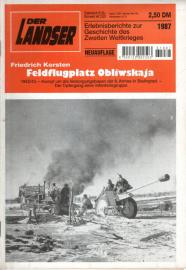 Feldflugplatz Obliwskaja. Neuauflage