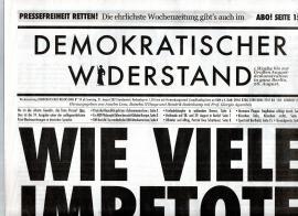 Demokratischer Widerstand. Wochenzeitung Nr.59 ab 21. August 2021