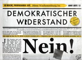 Demokratischer Widerstand. Wochenzeitung Nr.58 ab 14. August 2021